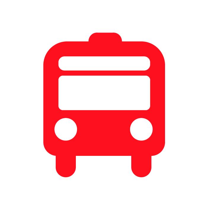 come raggiungere psico pronto soccorso in bus icona