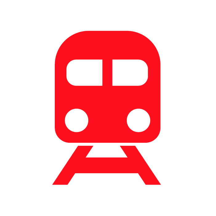 come raggiungere psico pronto soccorso in treno icona